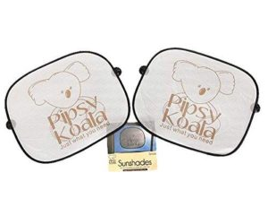 Pipsy Koala Sunscreens Car Sun Blind (Twin Pack)