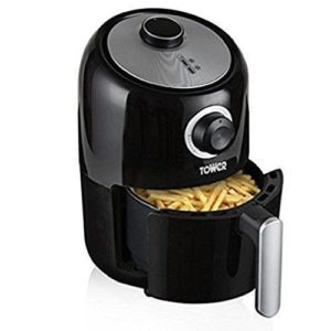 Tower 1.6L Compact Air Fryer With 30 Minute Timer Healthy Eating 1000W - T17026