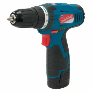 Silverline Tools 10.8V Drill Driver With 1.3Ah Li-ion Battery & Charger