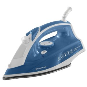 Russell Hobbs Supreme Steam Traditional Iron, 2400 W, White/Blue, 0.3 Litres
