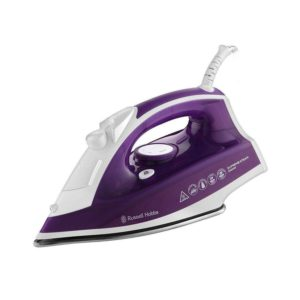 Russell Hobbs Supreme Steam Traditional Iron, 2400 W, Purple/White, 0.3 Litres