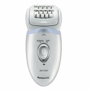 Panasonic ES-ED53 Wet and Dry Cordless Epilator with Four Extra Attachments