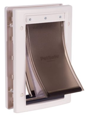 PetSafe Extreme Easy Install Weather Pet Door, 3 Flap System-Small