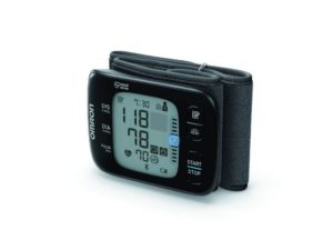 Omron Wrist Blood Pressure Monitor & Bluetooth Connectivity