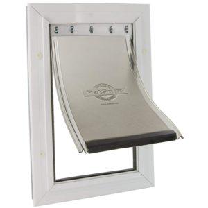 PetSafe Staywell Aluminium Pet Door Flap Energy Efficient Magnetic Locking Large