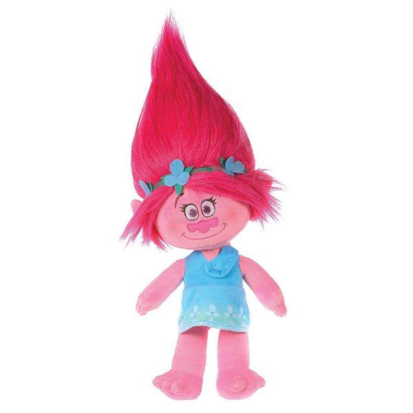 Dreamworks Trolls Poppy, Super Soft Plush Velvet, 30 cm