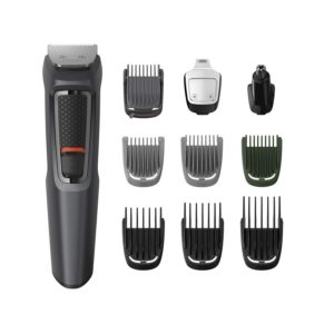 Philips Series 3000 10-in-1 Multi Grooming Kit for Beard, Hair and Body with Nose Trimmer Attachment
