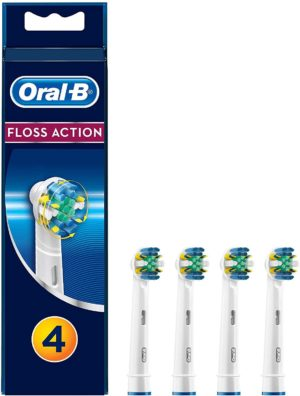 Oral-B Floss Action Heads x4
