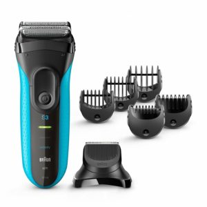 Braun Series3 3-In-1 Men Electric Cordless Wet&Dry Shaver With Precision Trimmer - BT3010