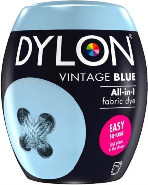 Dylon Machine Dye Pod, Vintage Blue, 350g