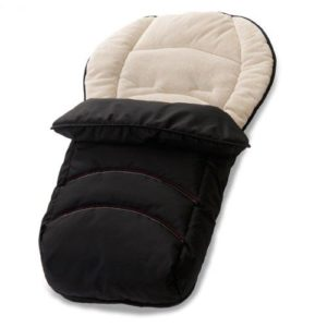 Hauck 2 Way Cosytoe Foot Muff - Black