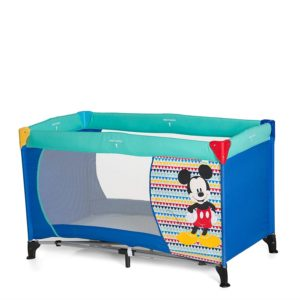 Hauck Disney Dream-n-Play Travel Cot + Folding Mattress