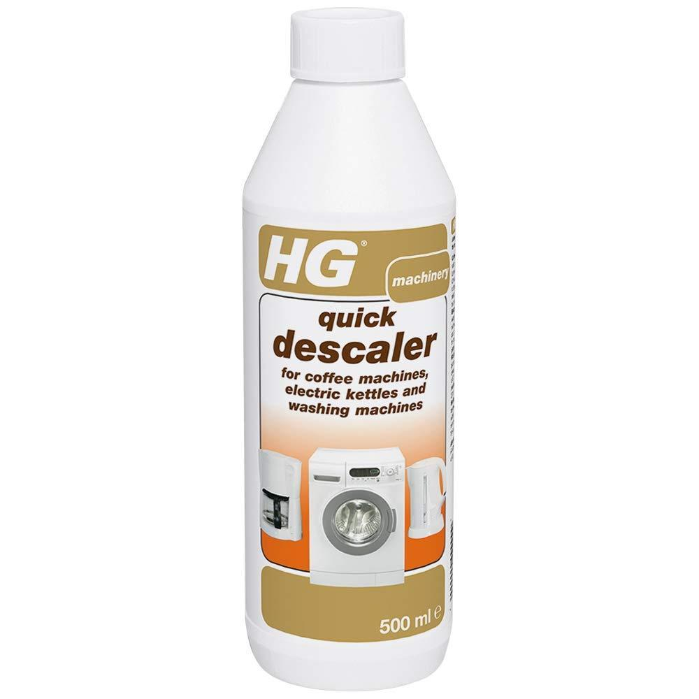 HG Quick Descaler For Coffee Machines, Electric Kettles And Washing Machines 500 ml