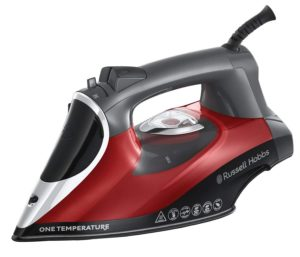 Russell Hobbs All-Frabric One Tempurature Technology Iron 2600W Red/Black