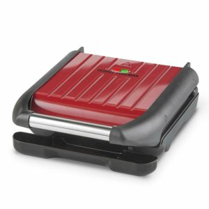 George Foreman Small Steel Grill