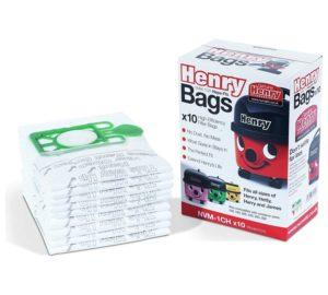 Numatic Henry HepaFlo Vacuum Bags, Pack of 10