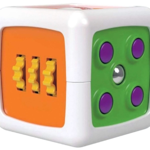 Fisher-Price My First Fidget Cube Toy Colours And Sounds 6 Months Plus