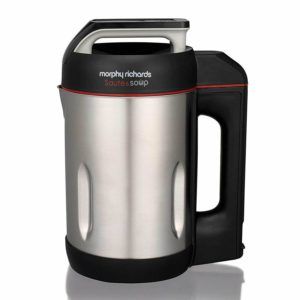 Morphy-Richards-501014-Saute-and-Soup-1-6-Litres-Soup-Maker-Stainless-Steel-New