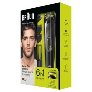 Braun 6-in-1 Beard Trimmer & Hair Clipper