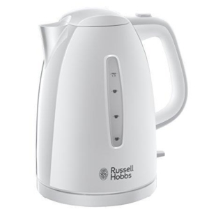 Russell Hobbs 21270 Textures Kettle, 1.7 L, 3000 W – White – 21270