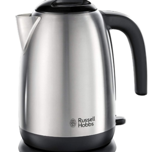 Russell Hobbs Adventure Electric Jug Kettle Brushed Stainless Steel 3000W 1.7 Litre – Silver
