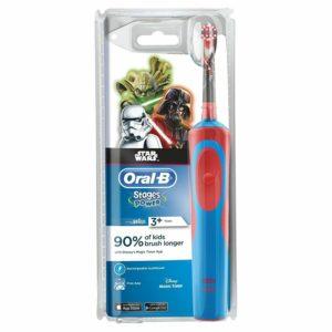 Braun Oral-B Vitality Kids Electric Toothbrush for Children STAR WARS SkyWalker