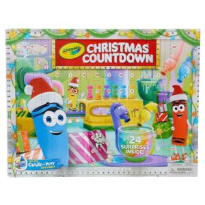 Crayola Christmas Countdown Advent Calendar, Multicolour