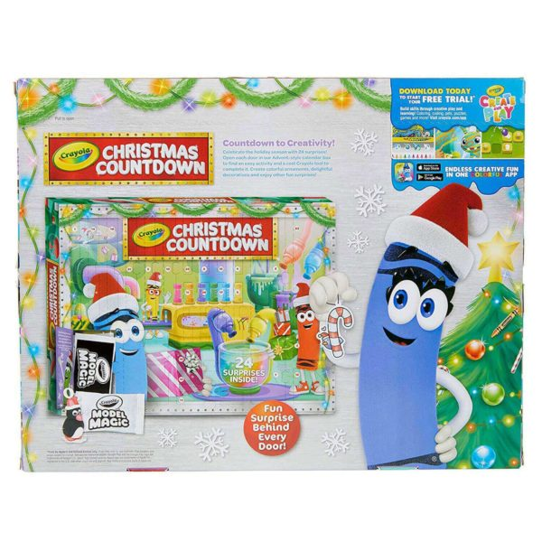 Crayola Christmas Countdown Advent Calendar,