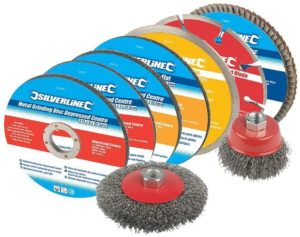 Silverline Cutting and Grinding Discs Kit, 12-Piece