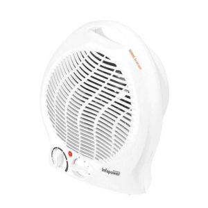 Infapower Upright Fan Heater With 2 Heat Settings