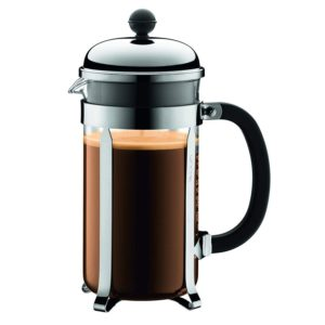 Bodum Chambord 8 Cup French Press Coffee Maker 1 Litres - Chrome