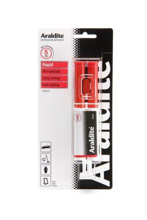 Araldite Rapid Syringe Epoxy, 24 ml