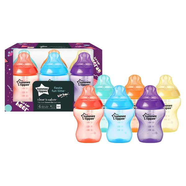 Tommee Tippee Closer to Nature Fiesta Bottles