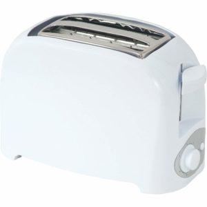 Infapower 2 Slice Toaster - White