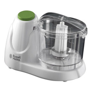 Russell Hobbs Mini Chopper With Push Button Operation 500ml Capacity 130W – White