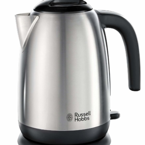 Russell Hobbs Adventure Electric Kettle 3000 W 1.7 Litre – Brushed Stainless Steel