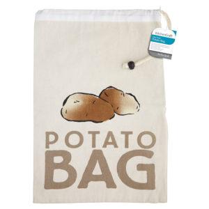 KitchenCraft Stay Fresh Potato Preserving Storage Bag - Beige