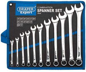 Draper 11-Piece Hi-Torq AF Combination Wrench Set