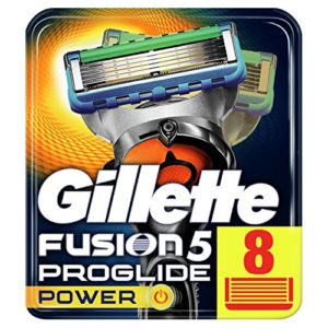 Gillette Fusion Men's ProGlide Power Razor Blades - 8 Blades