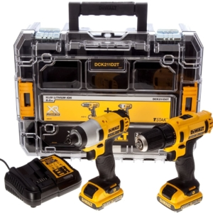 Dewalt Li-ion Cordless Compact Drill Driver and Impact Driver (Twin Pack)