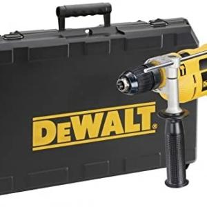 Dewalt Percussion Drill 13 mm with Kitbox – 240V