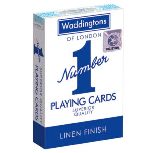 Waddington's Original Number 1 Playing Cards – Red or Blue (Colour May Vary)