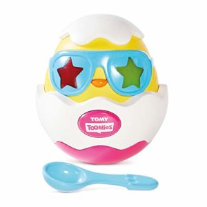 Tomy Toomies Beat It Egg Musical Sensory Toys with Lights and Sounds