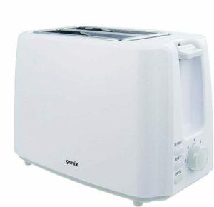 Igenix 2 Slice Toaster Deep Slots, Adjustable Browning Control