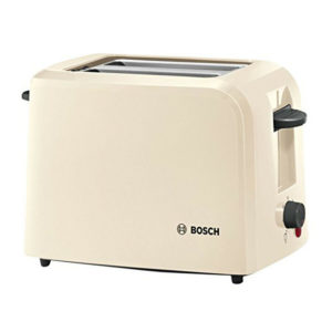 Bosch TAT3A017GB Village 2 Slice Toaster - Cream.