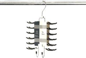 H & L Russel Ltd Tie Hanger/Tie Organiser with 24 Non-Slip Bars
