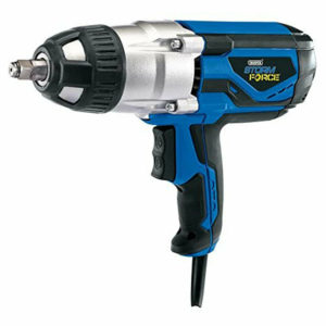 """Draper Electric 1/2"""" Dr Impact Wrench In Case, 240V"""