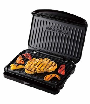 George Foreman Medium Fit Grill - Versatile Griddle, Hot Plate and Toastie Machine