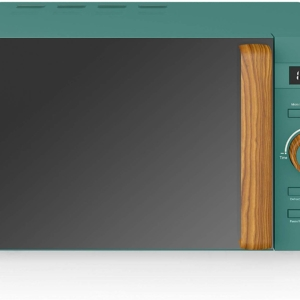 Swan Nordic Digital Microwave With 6 Power Levels 800 W 20 Litres – Pine Green