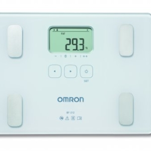 Omron Body Composition Monitor in White